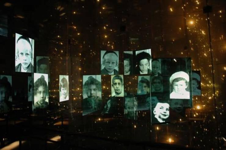 Memorialul celor 1,5 milioane de copii uciși în Holocaust,  Yad Vashem