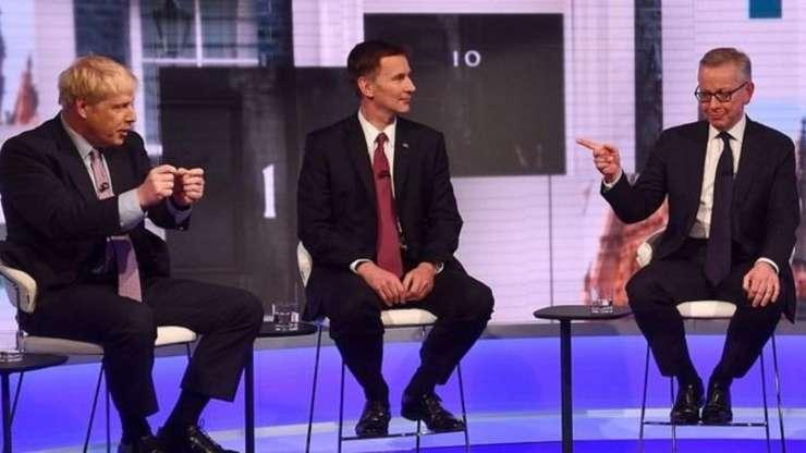 Boris Johnson, Jeremy Hunt și Michael Gove