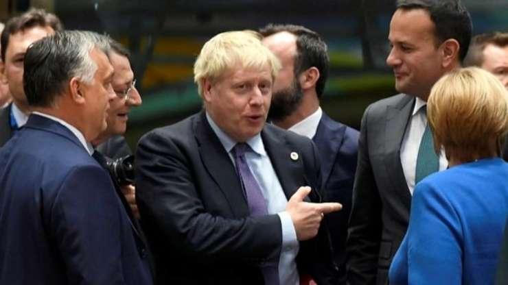 Prim ministrul Boris Johnson la summitul UE