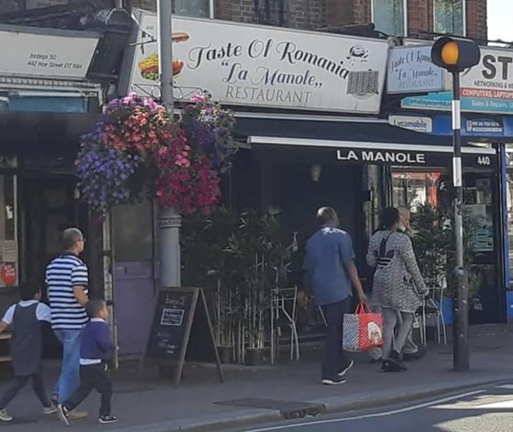 Restaurant românesc în estul Londrei