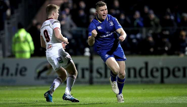 Leinster 38 Ulster 7