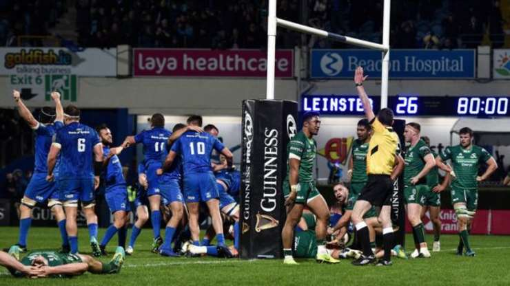 Leinster 33 Connacht 29