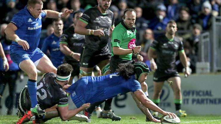 Leinster 54 Connacht 7