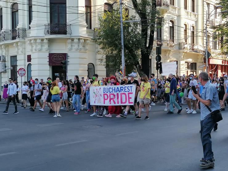 Marșul Diversității Bucharest Pride 2021 (Foto: RFI/Cosmin Ruscior)