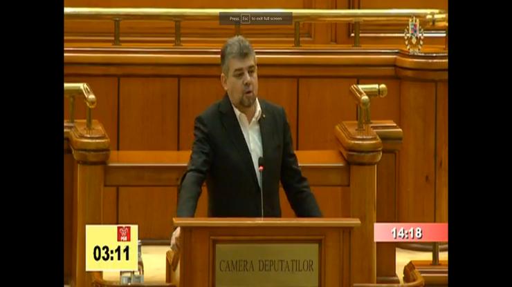 Marcel Ciolacu se declară revoltat (captură video)