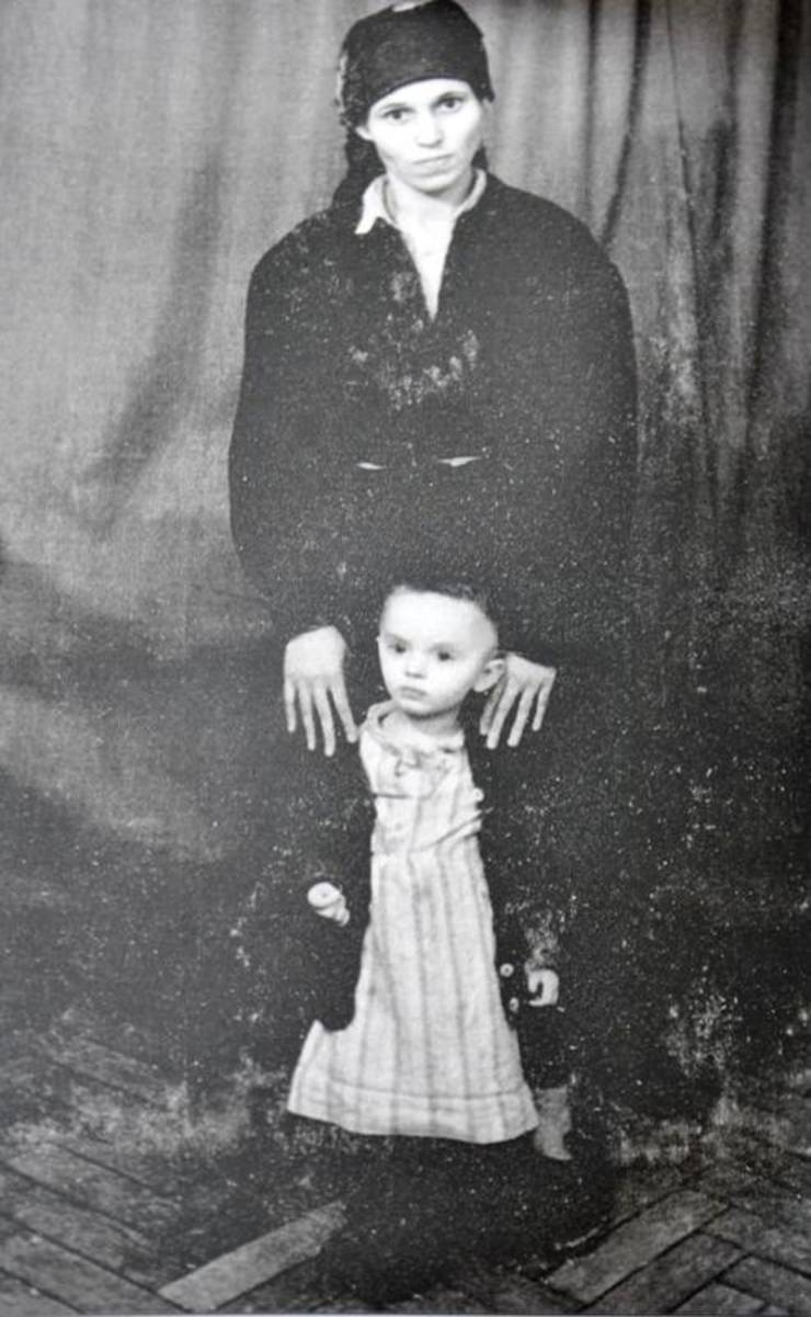 Maria Plop și fiica ei Ioana