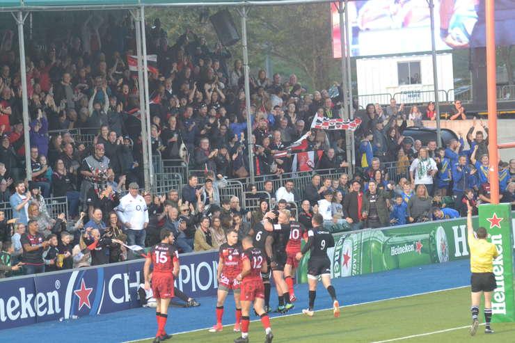 Saracens 29 Lyon 10