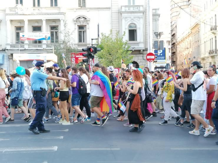 Marșul Diversității 2021 (Foto: RFI/Cosmin Ruscior)