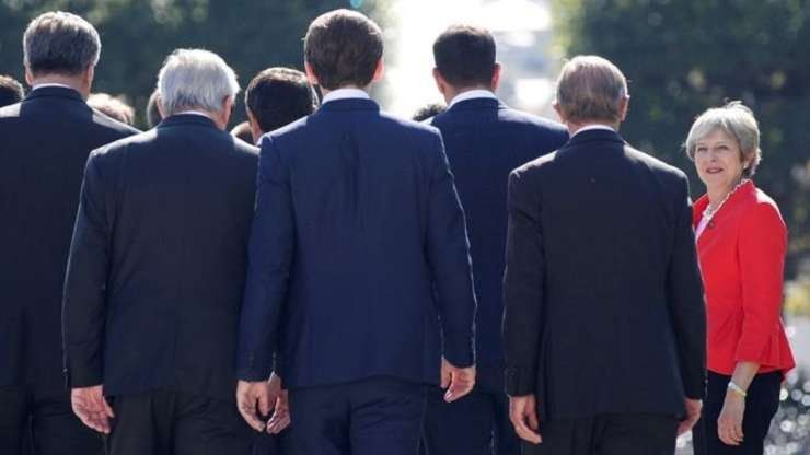 Premierul May la summitul UE