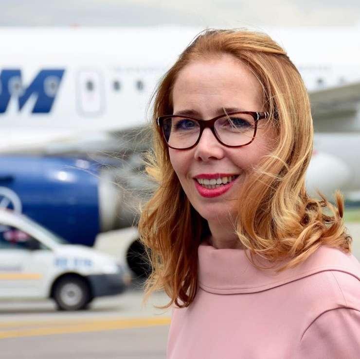 Mădălina Mezei este directoare generală la Tarom din iunie 2019