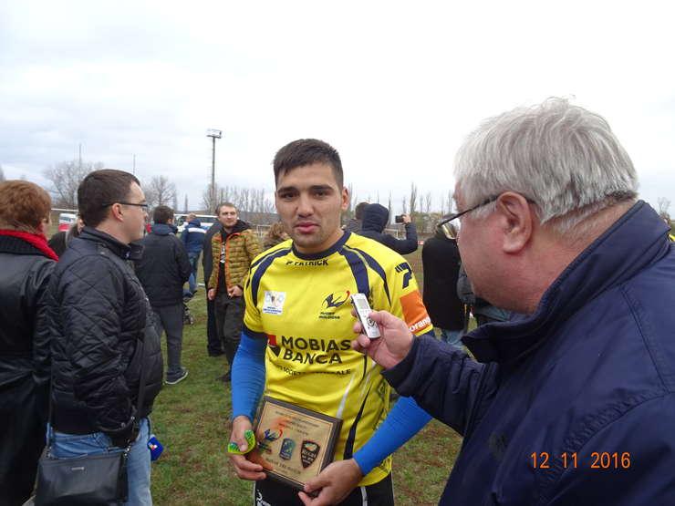 Mihai Golubenco, omului meciului Moldova - Ucraina