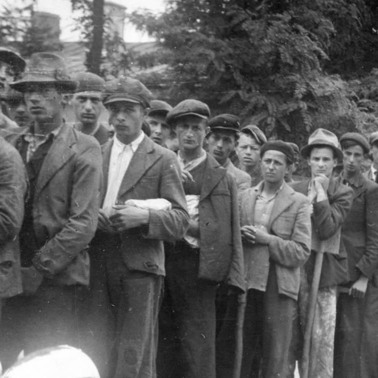 Evrei la muncă obligatorie