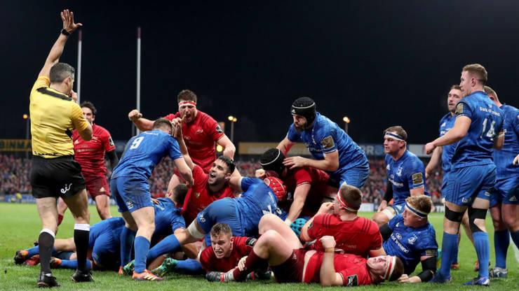 Munster 6 Leinster 13