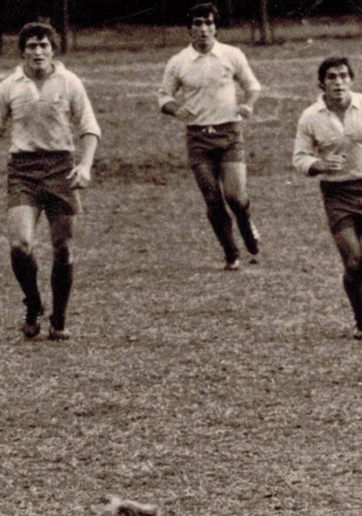 De la stânga Florică Murariu, Dumitru Alexandru, Mircea Paraschiv