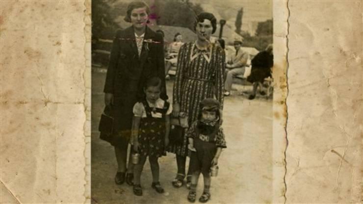 Nat Shaffir cu familia 1938