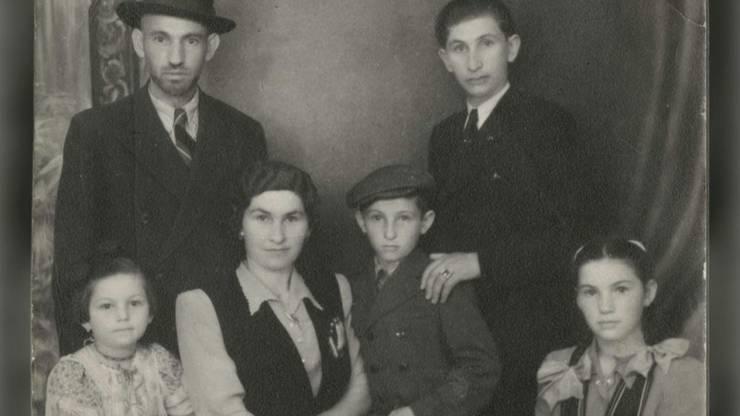 Nat Shaffir cu familia sa