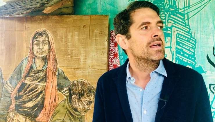 Nicolas Laugero Lasserre este unul dintre asociaţi si directorul artistic al Fluctuart Paris