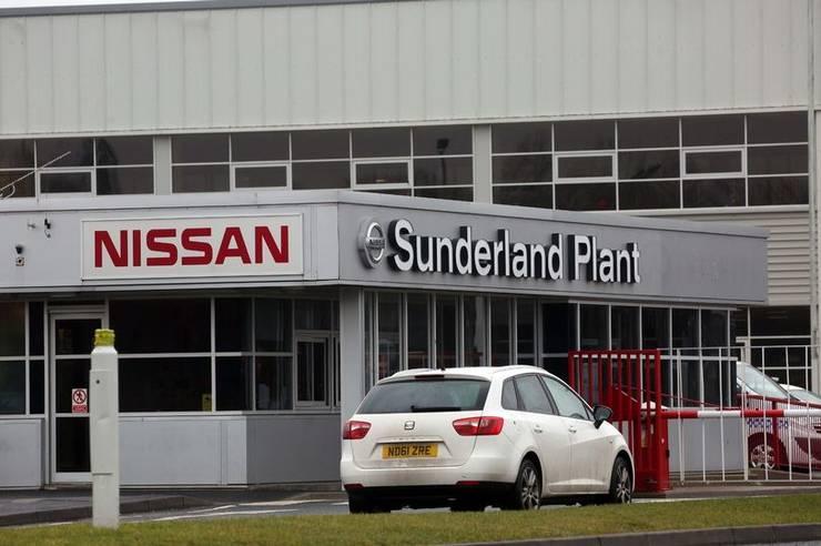 Uzina Nissan de la Sunderland