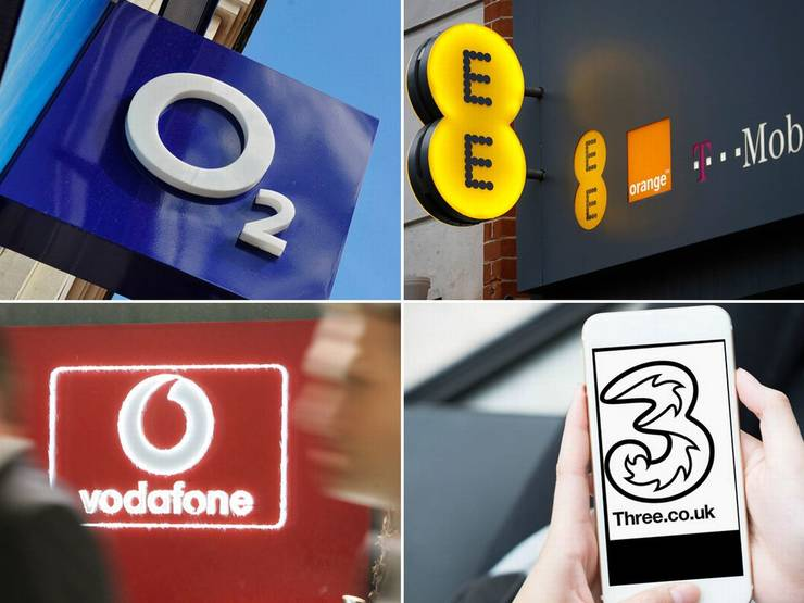 Operatori telefonie mobilă UK