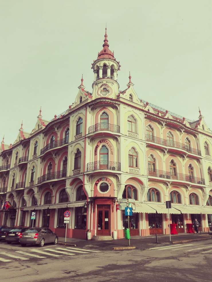 Grand Hotel Astoria din Oradea (Foto: RFI/Cosmin Ruscior)