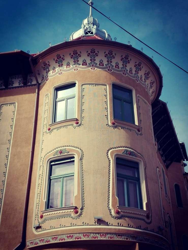 Palatul Stern din Oradea (Foto: RFI/Cosmin Ruscior)