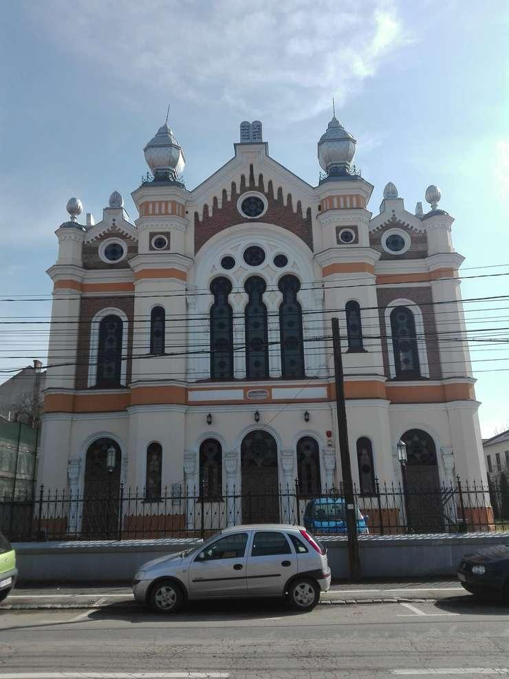 Sinagoga Ortodoxă din Oradea (Foto: RFI/Cosmin Ruscior)