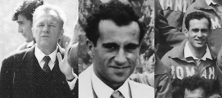 (de la stânga la dreapta) Nicolae Pădureanu, Aurel Barbu, Alex Teofilovici