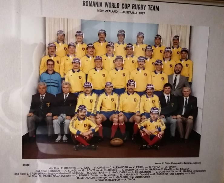 România la Cupa Mondială 1987