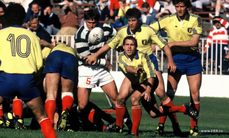România - Zimbabwe la Cupa Mondială din 1987