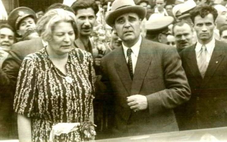 Ana Pauker cu Gheorghe Gheorghiu Dej în 1947