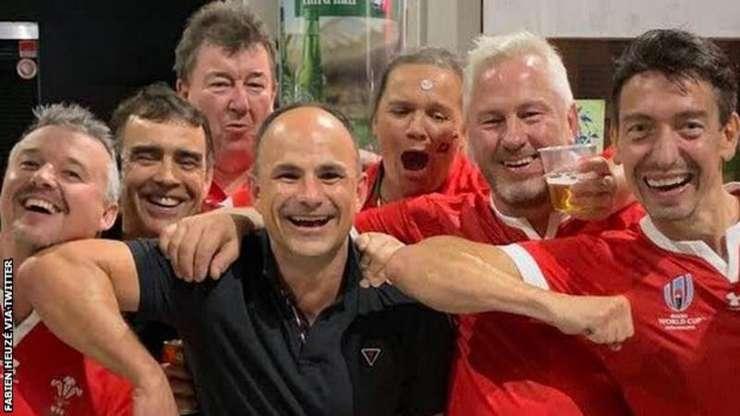 Jaco Peyper cu fani galezi