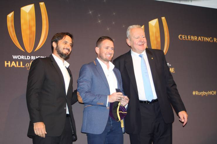 Agustin Pichot, Shane Williams și Bill Beaumont