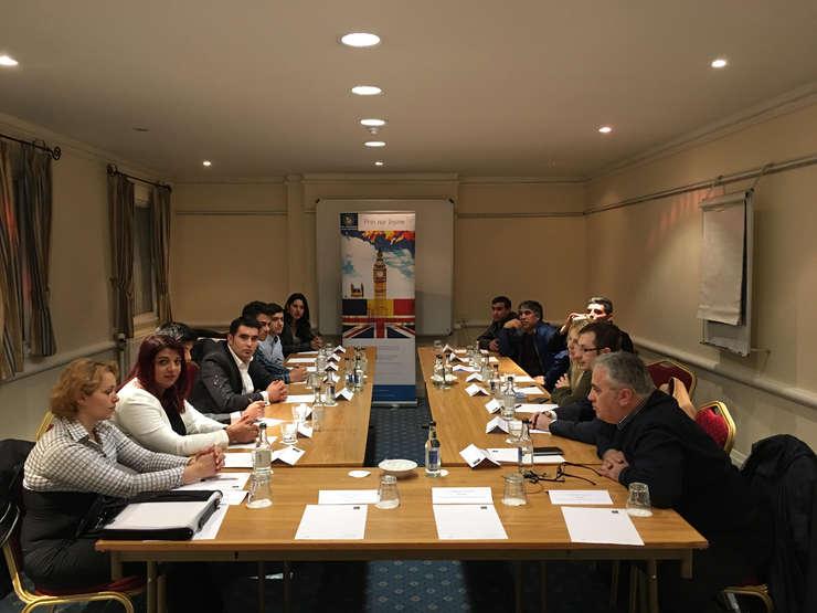 Întâlnire dintre reprezentanții PNL Marea Britanie și români din centrul Angliei