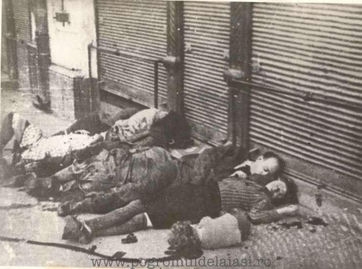 Evrei uciși în pogromul de la Iași