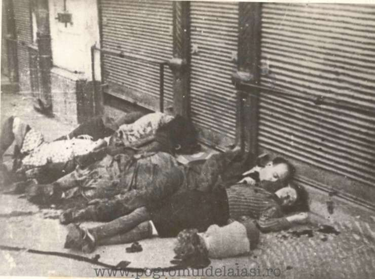 Evrei uciși în pogrom