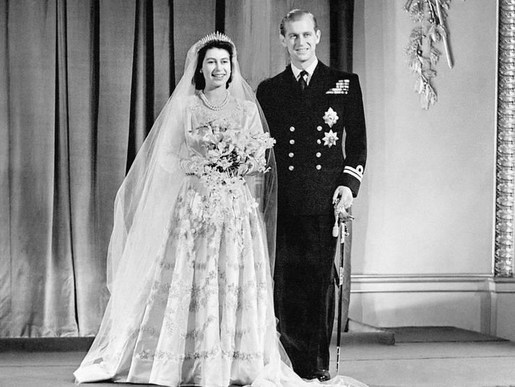 Regina Elisabeta a II-a și Prințul Philip