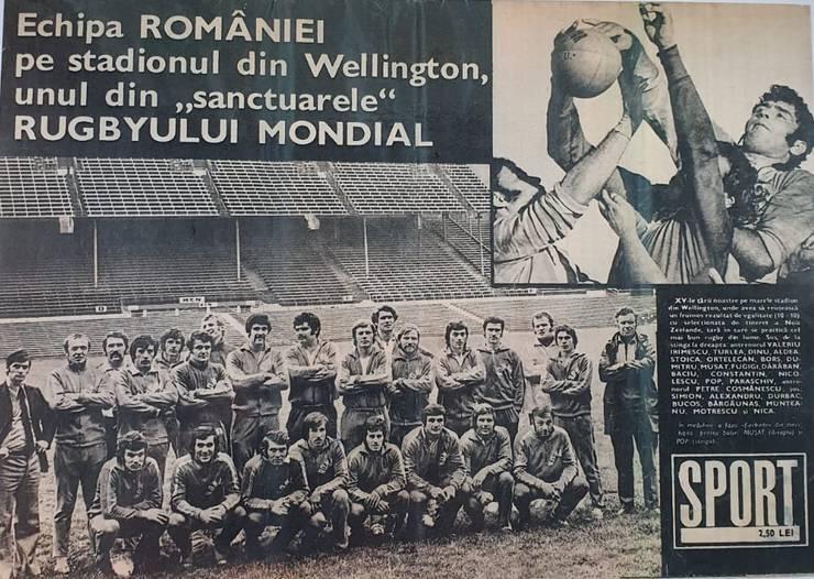 Echipa României la Wellington, Noua Zeelandă
