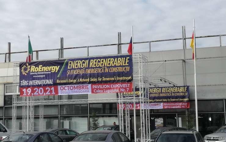 Târgul RoEnergy s-a desfășurat la Timișoara, între 19 și 21 octombrie