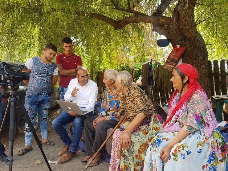 Supraviețuitori ai Holocaustului Romilor