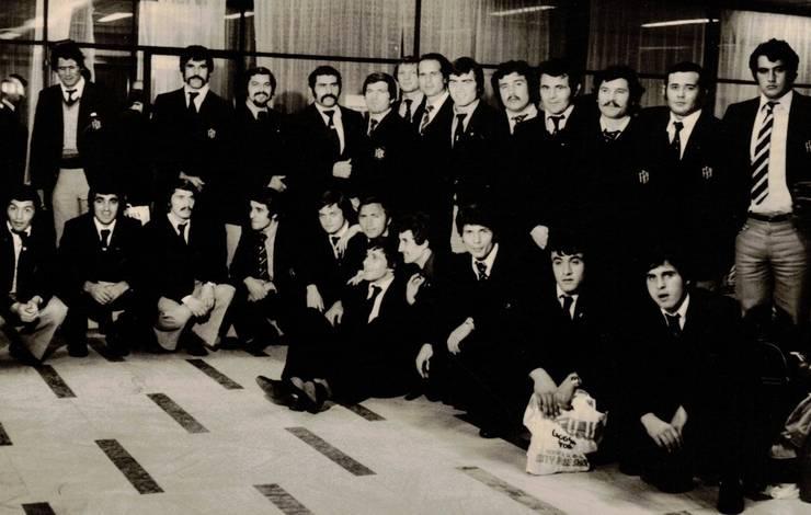 România în turneu în Anglia, 1978