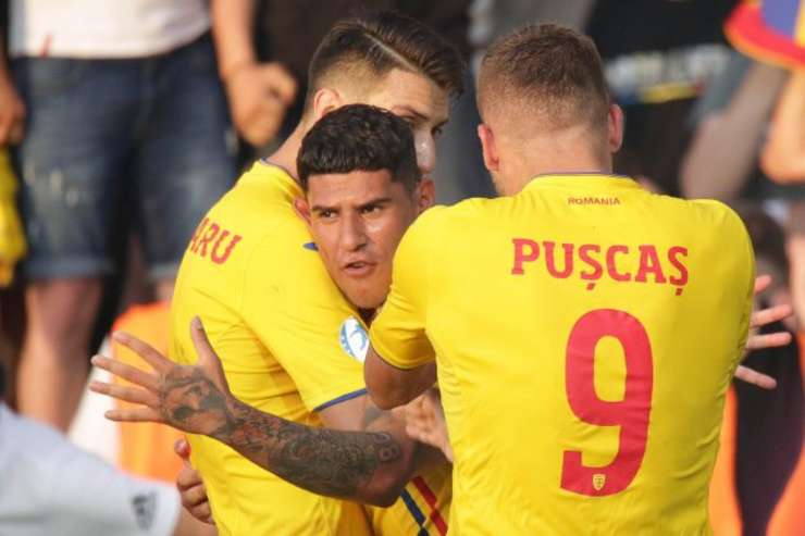 România a învins Anglia cu 4-2 la EURO 2019 U21 (Sursa foto: site FRF)