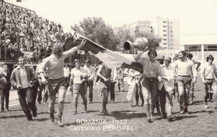 România campioană europeană 1977