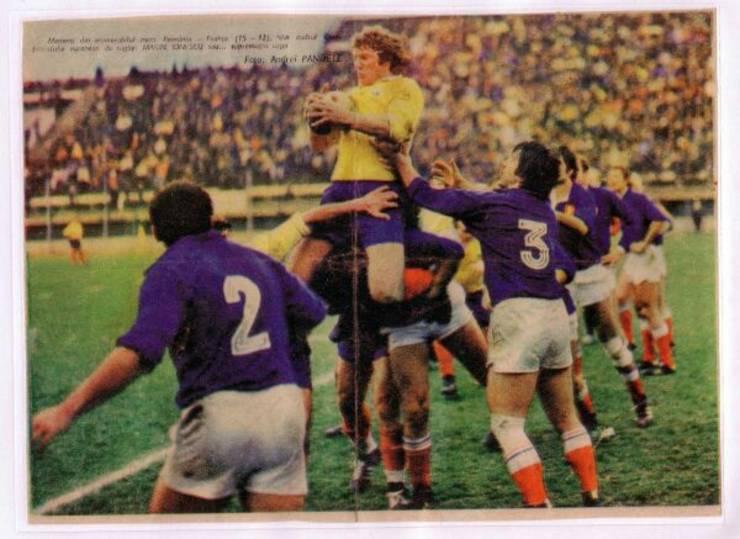 România 15 Franța 12 în 1976