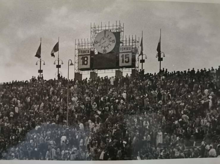 România - Franța 1957