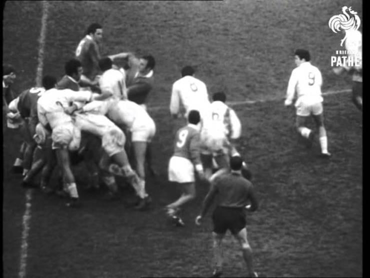 România - Franța, 1968