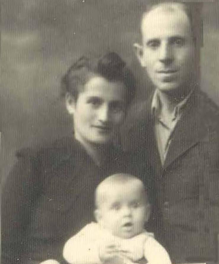 Roszi, Erno și Andrei Klein