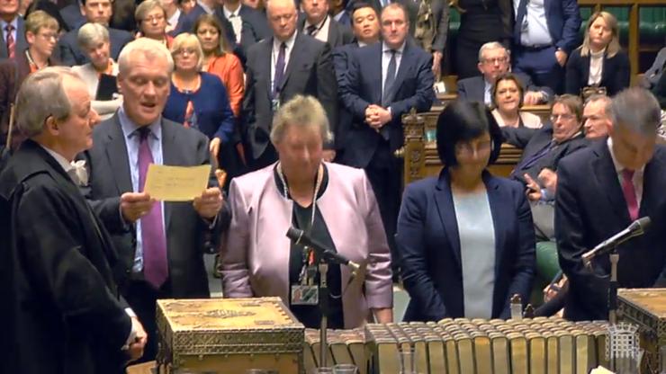 În Camera Comunelor se anunță rezultatul votului