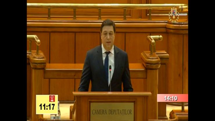 Șerban Nicolae îi face hoți pe membrii Guvernului Orban (captură video)