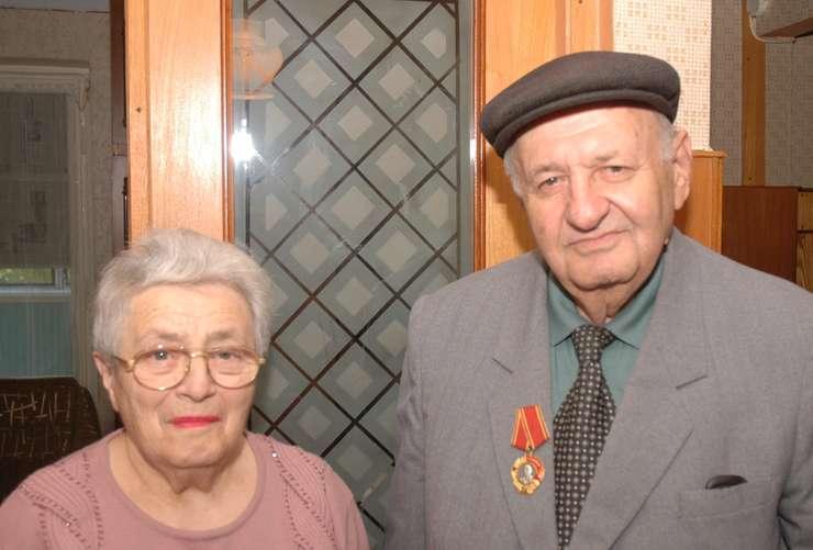 Shabs Roif și soția sa, Liuba