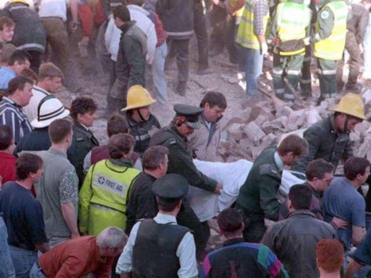 Atentat IRA la Belfast în 1993